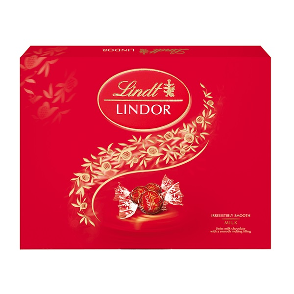 Chocolate Lindt Lindor Box Milk 300g