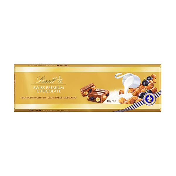 Chocolate Lindt  Gold Raisin 300g