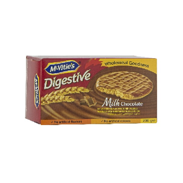 Galletas Digestive Chocolate 200g