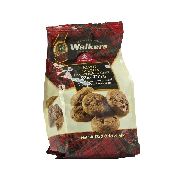 Galletas Walkers Belgian Chocolate 125g
