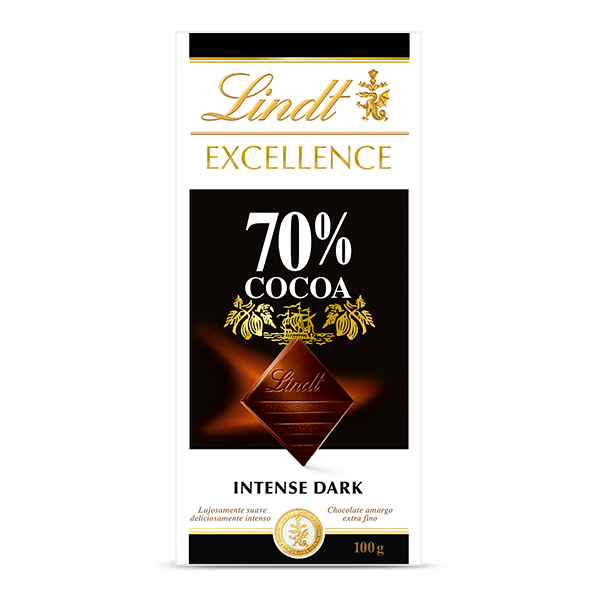Chocolate Lindt  Excel Dark 70XC 100g