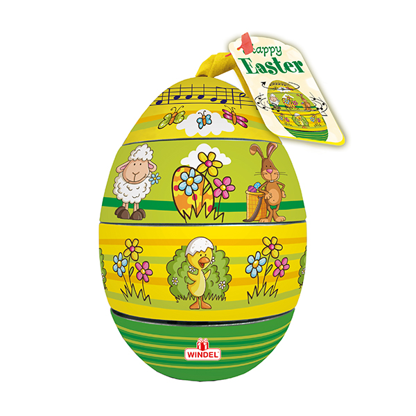 Chocolate Windel Musical Egg 150g
