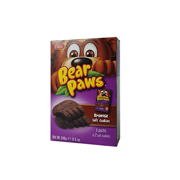 Galletas Bearpaws Brownie 240g