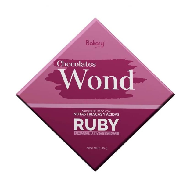 Chocolate Wond Ruby 35XC Cacao 50g