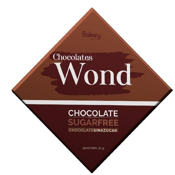 Chocolate Wond Sugar free 50g