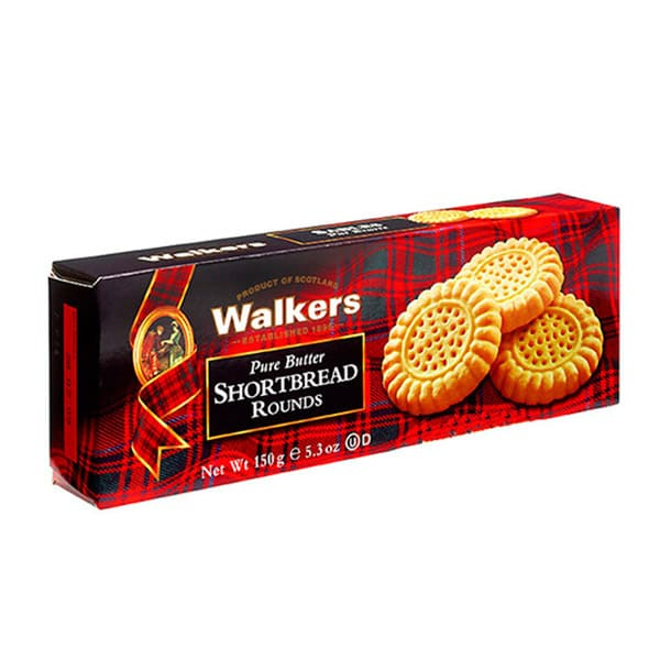 Walkers Shorttbeard Rounds 150 g