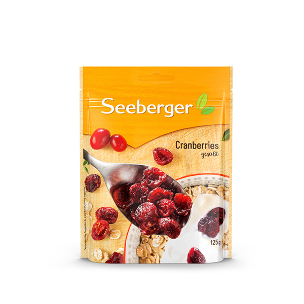 Fruto Seco Seeberger Cranberries 125 g
