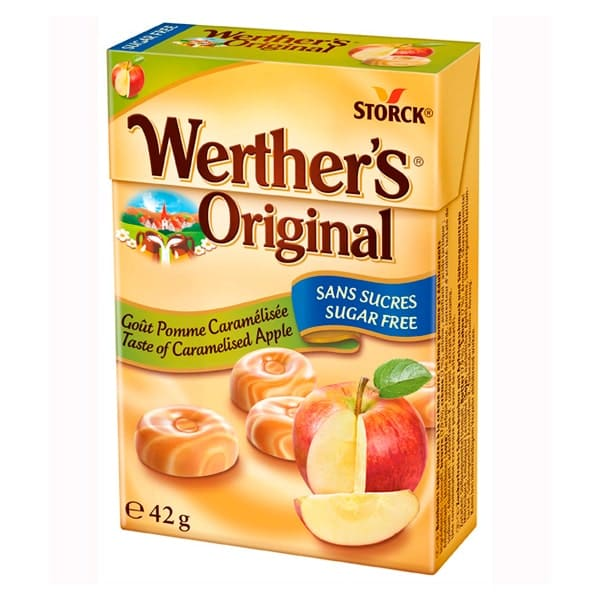Dulce Werthers Manzana Sugar Free 42 g