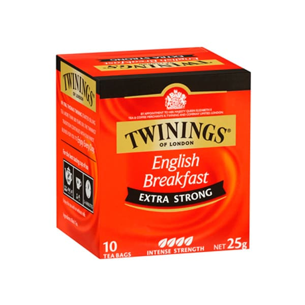 Té Twinings english breakfast extra strong 25 g