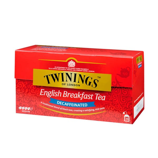 Té Twinings English Breakfast Decaffeintated 50 g