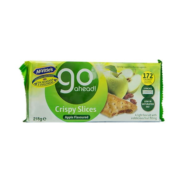 Galletas Go Ahead Apple & Sultana 218g