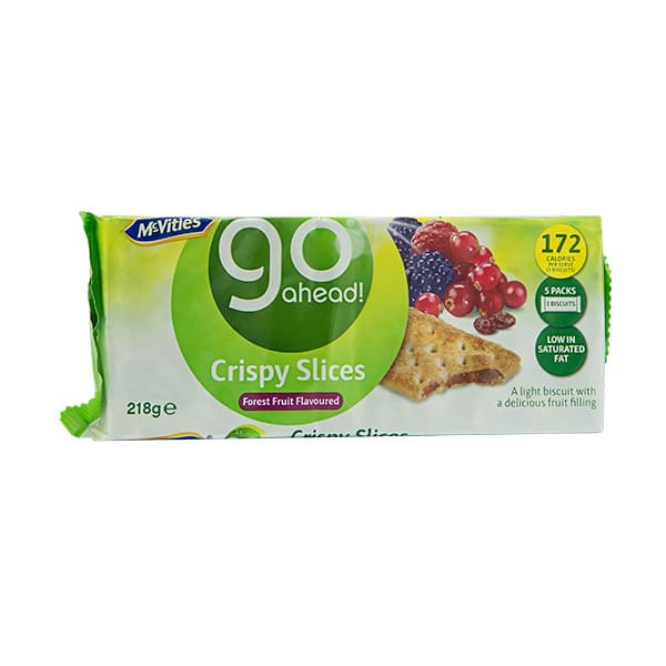 Galletas Go Ahead Fores Fruit Crispy 218g