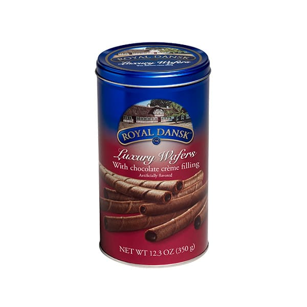 Galletas Royal Dansk Barquillos Chocolate X350g