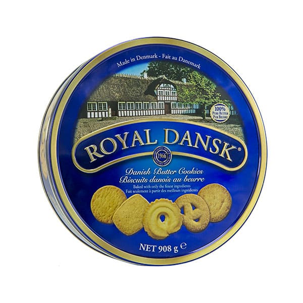 Galletas de Mantequilla Royal Dansk X908g