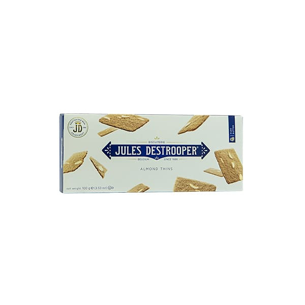 Galletas Jules Destro Almond Thins 100g